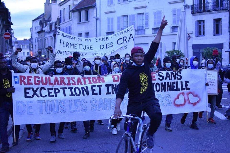 Manif Acte 3 MNSP Dijon